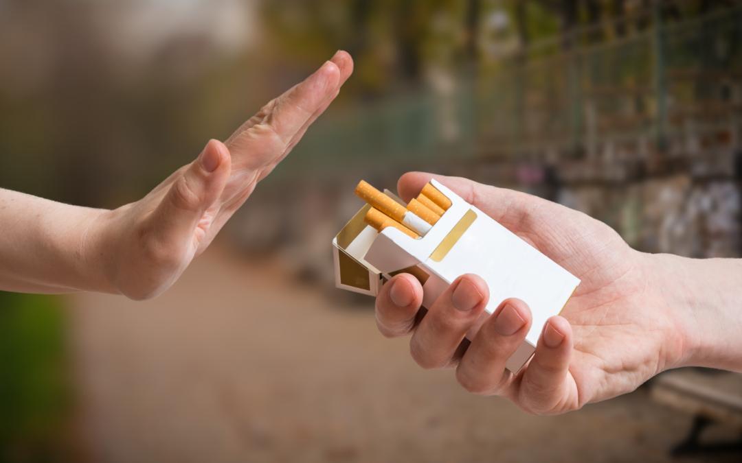 Stoppen met roken met behulp van nicotinevervangers: Zo doe je dat!